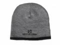 Geocaching-Mütze grau