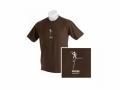 Youth Focus Tee - T-Shirt, braun für J..