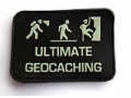 «ULTIMATE GEOCACHING» - night glowing patch