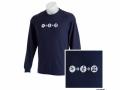 Tech + Nature Langarm-Shirt, marineblau