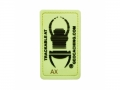 Travel Bug® Glow In The Dark - Trackable Patch