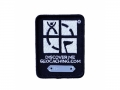 Geocaching Trackable Patch - Black (St..