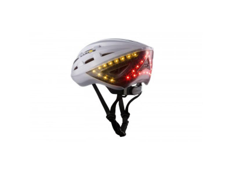 garmin lumos fahrradhelm mit licht bremslicht und. Black Bedroom Furniture Sets. Home Design Ideas
