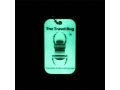 Geocaching QR Travel Bug - Glow in the Dark