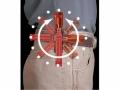 Gürtel- und Wand-Halter für AA Taschenlampen