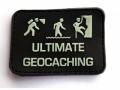 «ULTIMATE GEOCACHING» - night glowing patch