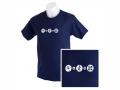 Tech + Nature T-Shirt marineblau für Jugendliche