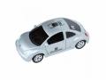 Trackable VW-Käfer silber