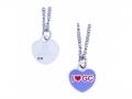 """""""I Heart GC"""" - """"Ich liebe Geocaching"""" - Halskette"""