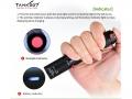 Kompakte, aufladbare LED-Taschenlampe für gefährliche Umgebung, TX105